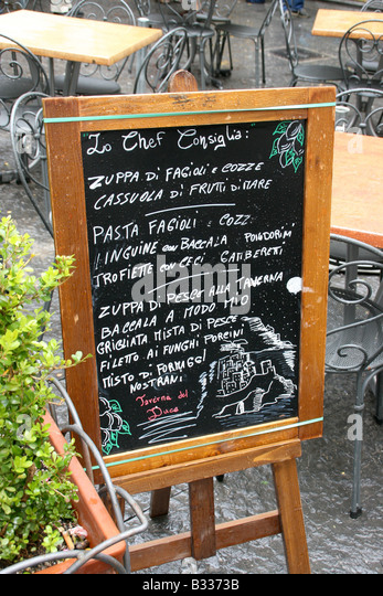 Cortona Cafe Menu