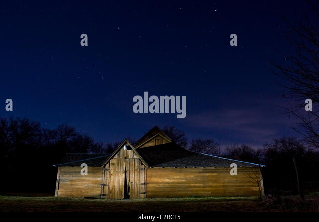 Cedar Hill Texas USA 14th Feb 2014 An Old Barn Is