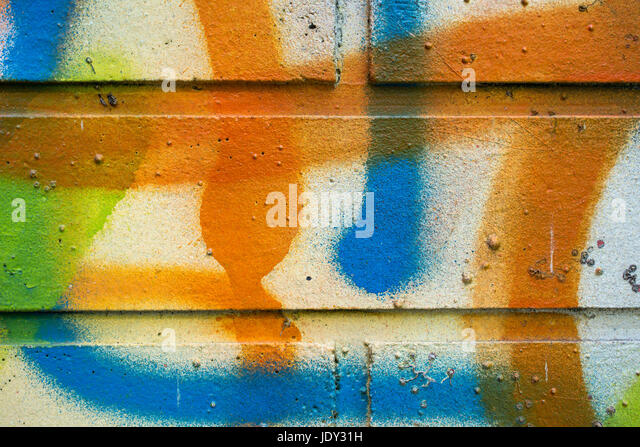 backsteinmauer moderne coole graffiti tags auf einer stock image bauen anleitung