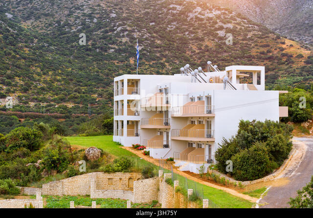 Modern Greek Architecture modern greek architecture stock photos & modern greek architecture