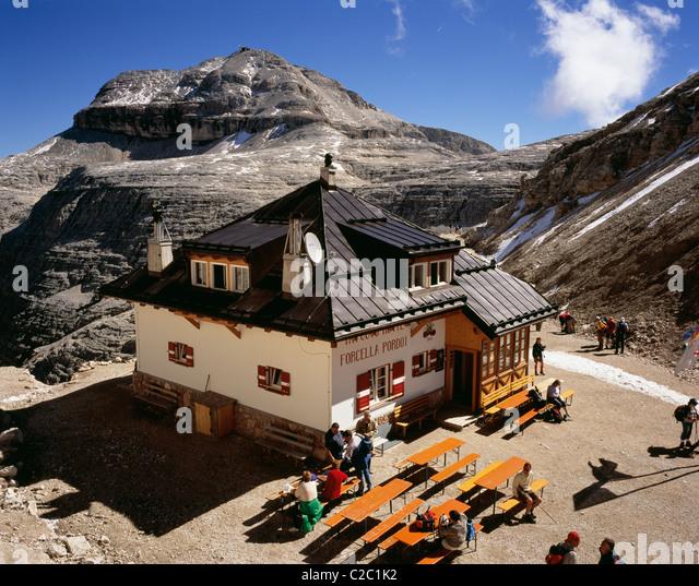Refugio Alps Stock Photos Amp Refugio Alps Stock Images Alamy