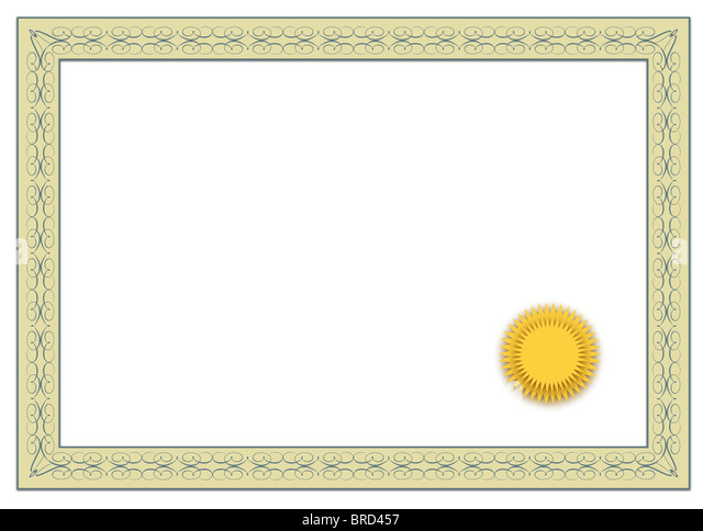 Stylized Blank Diploma On White Stock Photos & Stylized Blank ...