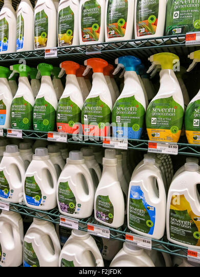 Cleaning Products Shelves Stock Photos Cleaning Products