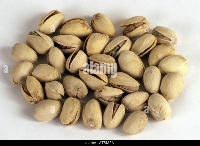how to open unopened pistachio nuts
