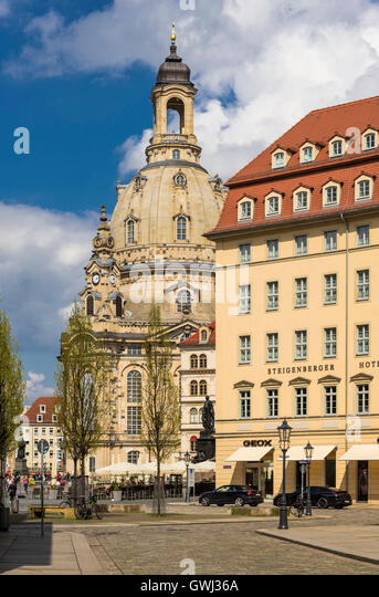 Steigenberger stock photos steigenberger stock images for Hotel dresden frauenkirche