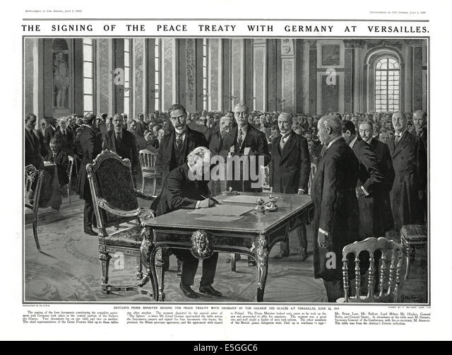 the events of the treaty of versailles The treaty of versailles, however,  keynes is sympathetic with germany and calls for the allies to revise the versailles treaty to be less harsh on german's.