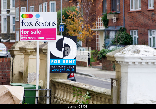 Buy to let flat sign stock photos buy to let flat sign Multi residential for sale