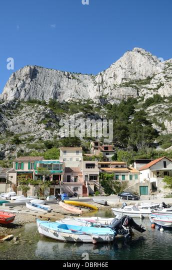 Calanques near marseille morgiou provence stock photos for E parking marseille