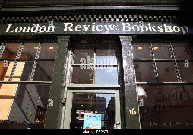 London Review Bookshop Cafe