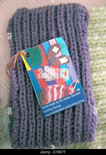 Free Knitting Patterns For Charity Items : Knitting Group Stock Photos & Knitting Group Stock Images - Alamy