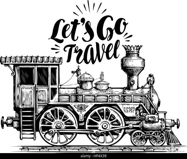 drawing of steam locomotive stock photos  u0026 drawing of