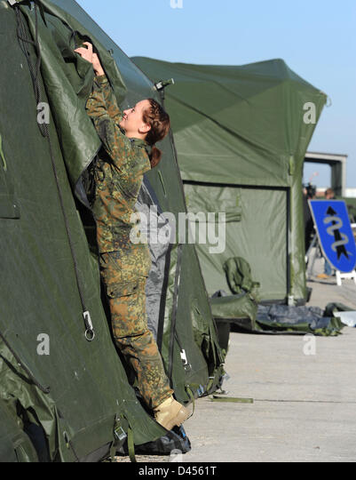 Gloomy Truck Tent : Army tent stock photos images alamy