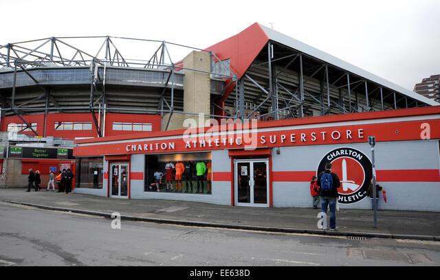 East London Soccer Grounds Stock Photos & East London