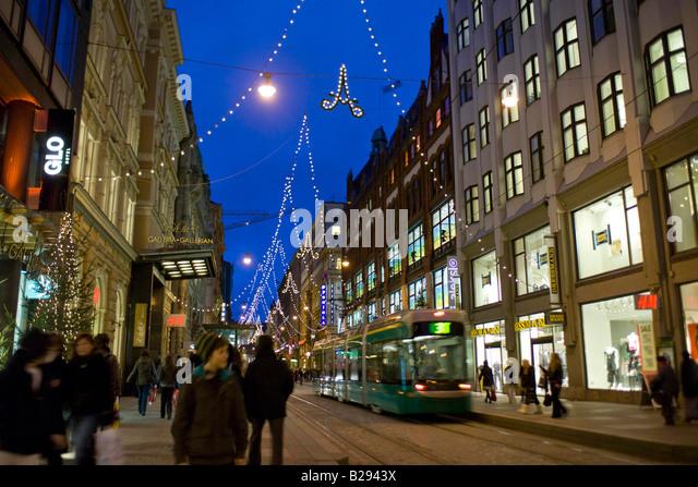 Mannerheim street helsinki finland date 11 02 2008 ref zb693 110474