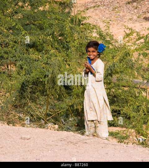 India Cute Village Girl Stock Photos & India Cute Village