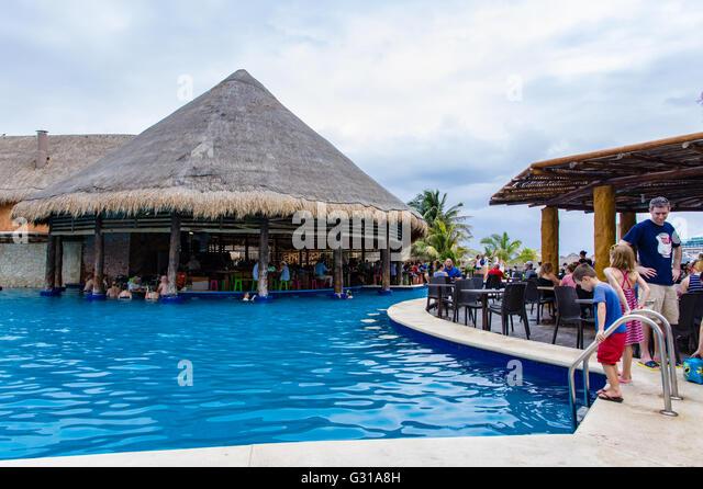 Swim Up Bar Caribbean Stock Photos Amp Swim Up Bar Caribbean
