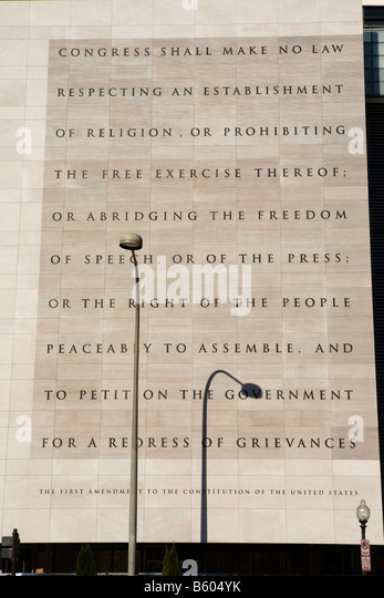 us constitution freedom of speech First amendment: the first of ten amendments to the constitution of the united  states, which protects freedom of religion, speech, assembly, and the press civil .