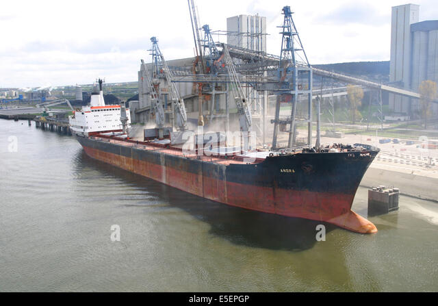 Cerealier stock photos cerealier stock images alamy - Grand port maritime de rouen ...