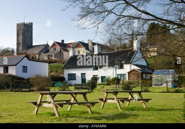 winsford village somerset england stock photos winsford. Black Bedroom Furniture Sets. Home Design Ideas
