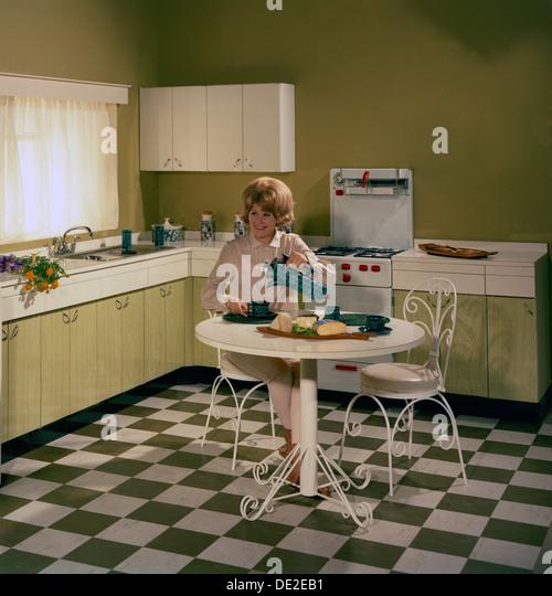 1960's Kitchen Stock Photos & 1960's Kitchen Stock Images