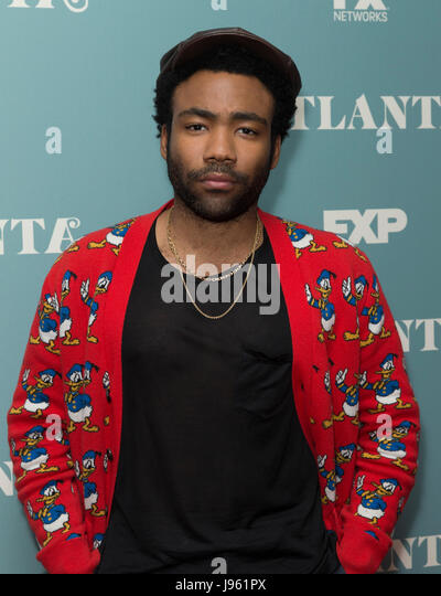 New York, United States. 05th June, 2017. New York, NY USA - June 5, 2017: Donald Glover attends the Atlanta For - Stock Image