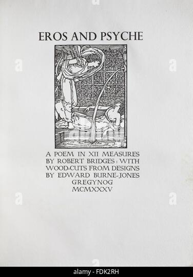essays on eros by robert bridges