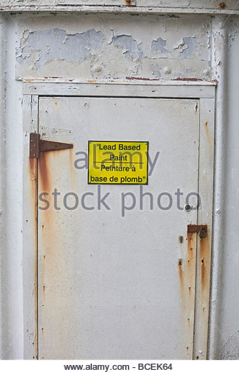 Lead paint stock photos lead paint stock images alamy for What are the dangers of lead paint