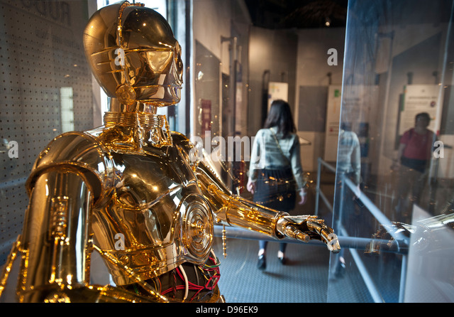 C 3po stock photos c 3po stock images alamy for Star wars museum san francisco