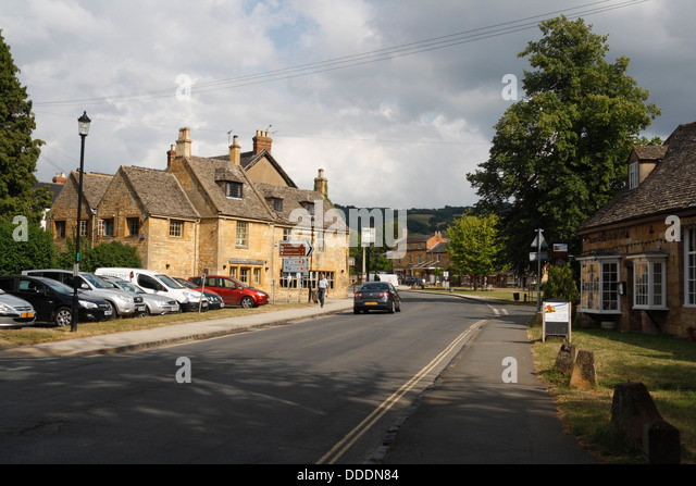 Broadway Hotel Worcestershire Cotswolds Stock Photos
