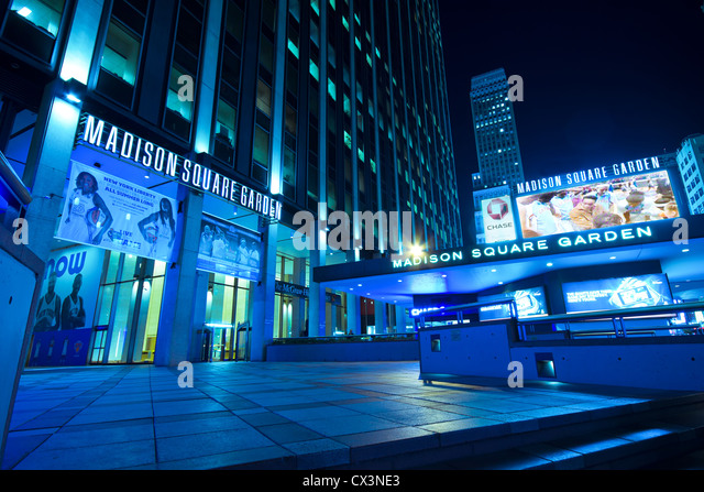 NEW YORK CITY   SEPT 13: Entrance To Madison Square Garden In New York City