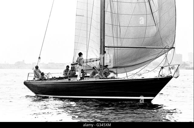 1973 Yacht Race Stock Photos & 1973 Yacht Race Stock ...
