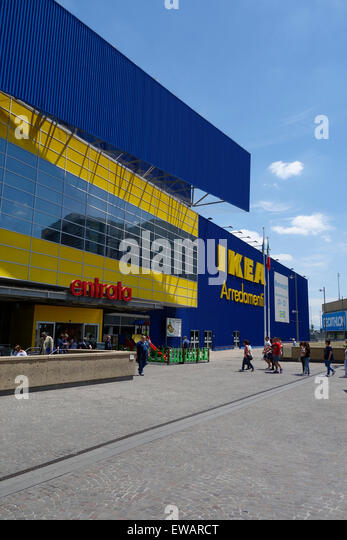 Ikea store stock photos ikea store stock images alamy - Porta di roma ikea ...