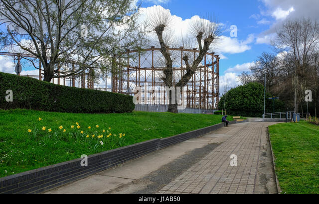 Unique In London Gasworks Stock Photos  In London Gasworks Stock Images  With Great Disused Gasworks In East London From Pathway Near River Lea Shows A Man  Sitting On With Astounding Hampstead Pergola  Hill Gardens Also Garden Waste Removal Newcastle Upon Tyne In Addition Rocks For Gardens And Searcys Roof Garden Rooms As Well As The Secret Garden Johannesburg Additionally Garden Pent Sheds From Alamycom With   Great In London Gasworks Stock Photos  In London Gasworks Stock Images  With Astounding Disused Gasworks In East London From Pathway Near River Lea Shows A Man  Sitting On And Unique Hampstead Pergola  Hill Gardens Also Garden Waste Removal Newcastle Upon Tyne In Addition Rocks For Gardens From Alamycom