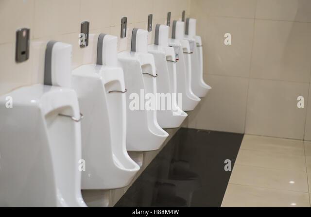 Bathroom Urinal urinal floor stock photos & urinal floor stock images - alamy
