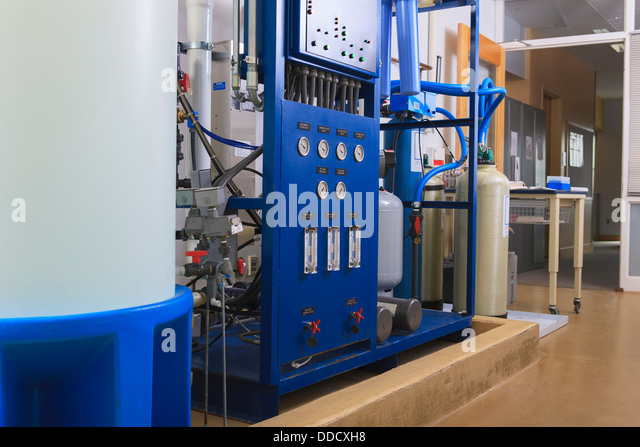 chemistry the purification of water The water treatment plant operator's job is to make sure that the water plant product presents no hazards to the consumer a schematic diagram of a typical municipal water treatment plant is shown in.