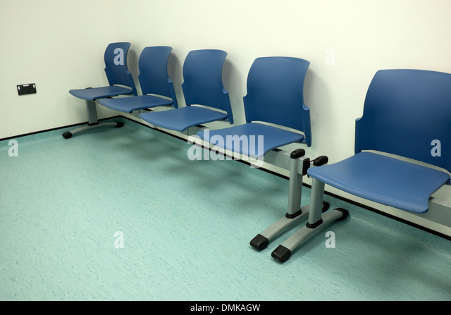 hospital doctors waiting room empty chairs stock image