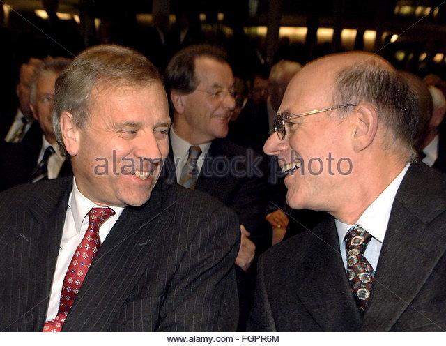 epa00561584 Norbert Lammert (R), Speaker of the German Lower House of ...