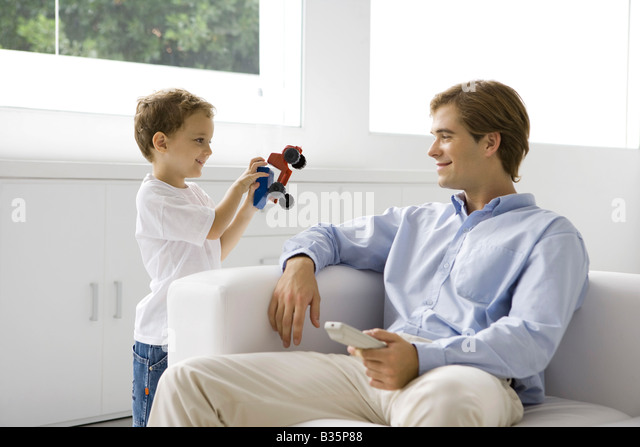 Boy Toys For Dads : Dump child stock photos images alamy