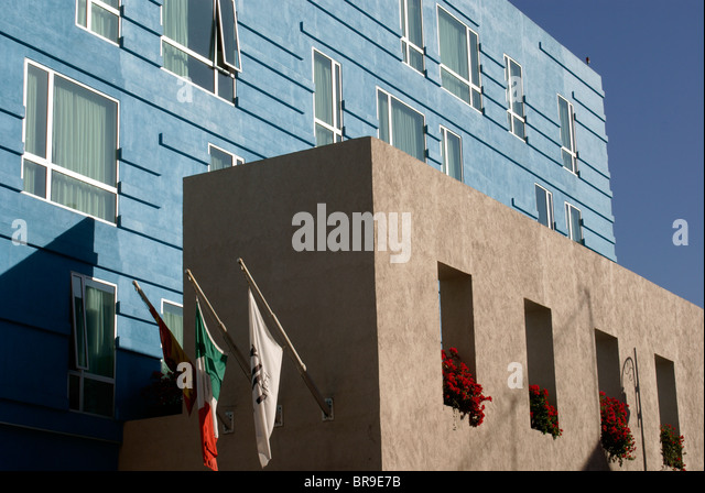 nh puebla hotel in the city of puebla mexico stock image - Modern Architecture Mexico