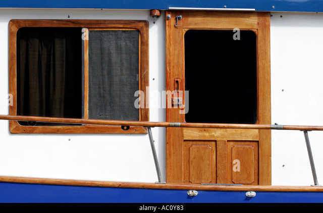 Mahogony stock photos mahogony stock images alamy for Boat cabin entry doors