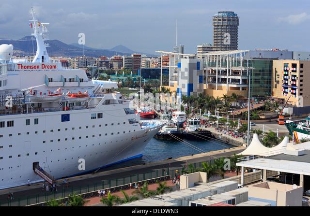 Canaries cruise ship stock photos canaries cruise ship for Oficina fred olsen santa catalina