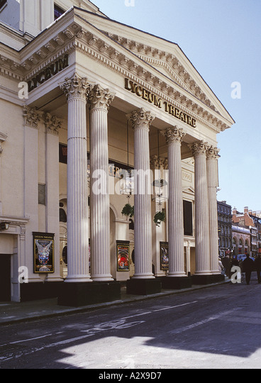 Front Elevation Theatre : Lyceum theatre stock photos images