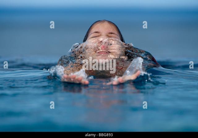 Surfacing Water Human Stock Photos Surfacing Water Human Stock Images Alamy