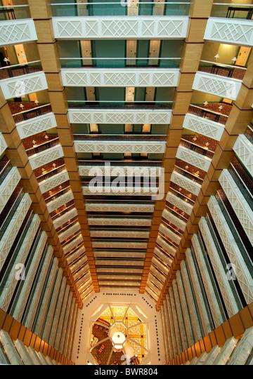 Qatar Atrium Ritz Carlton Hotel Doha Doha Arabian Peninsula Eastern