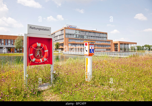 Neutraubling Germany  City pictures : ... of the Infineon Technologies AG in Neutraubling, Germany Stock Image