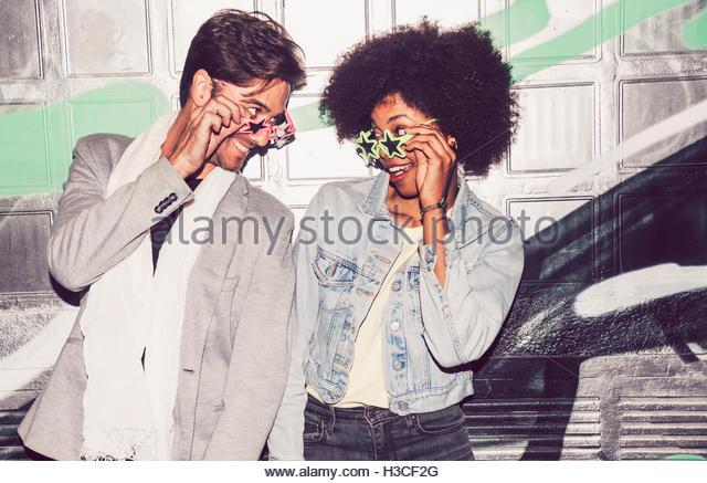 Interracial Graffiti Painters