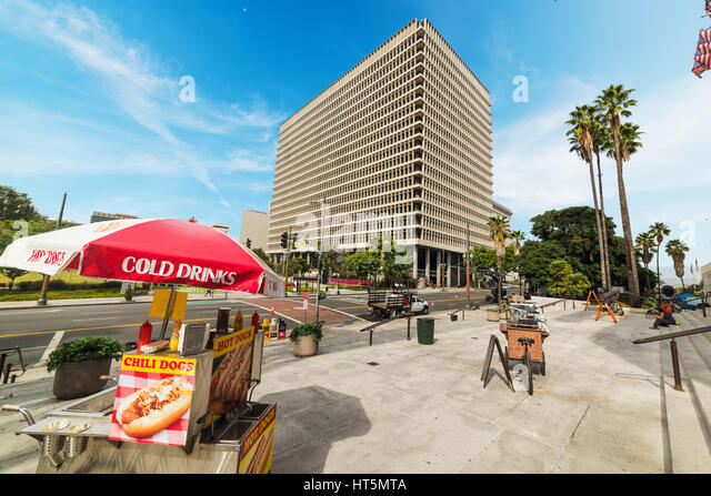 Hotdog van stock photos hotdog van stock images alamy for Recycled building materials los angeles