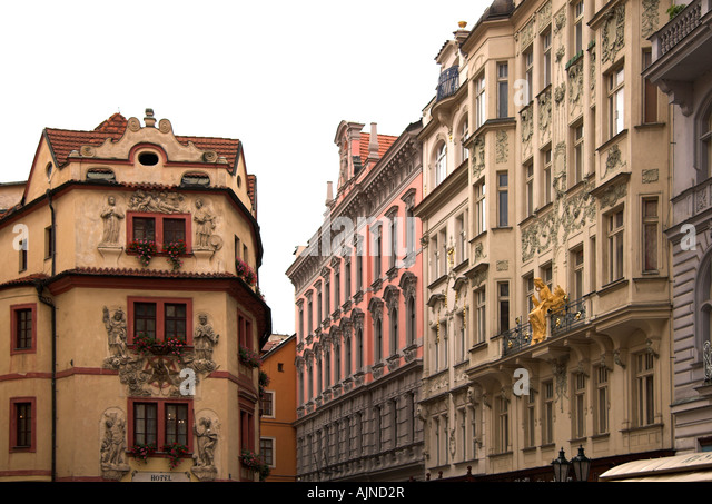 Zlate stock photos zlate stock images alamy for Europe hotel prague
