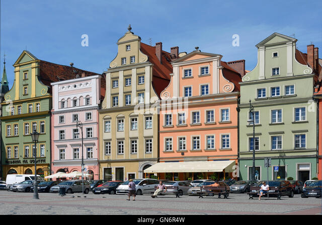 Plac Solny And Wroclaw Stock Photos Plac Solny And