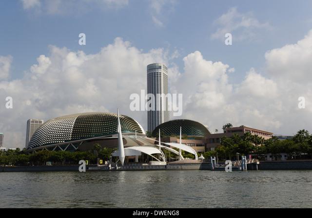 Esplanades stock photos esplanades stock images alamy for Tallest hotel in singapore